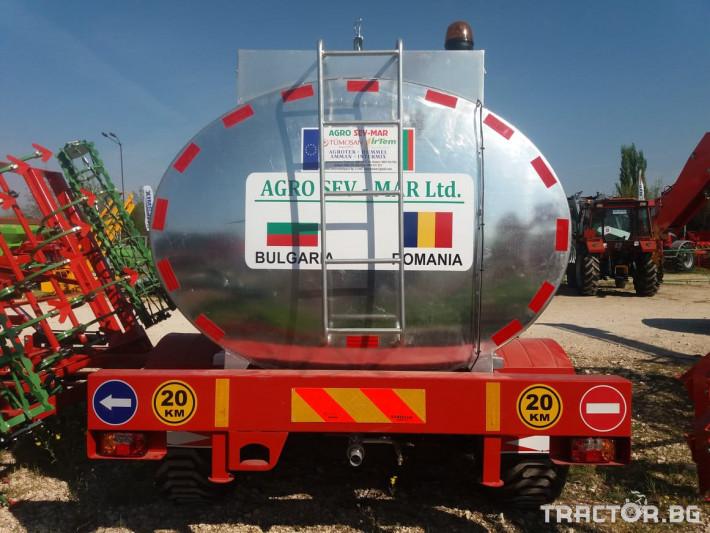 Ремаркета и цистерни Цистерни за вода SAHINLER 3 - Трактор БГ