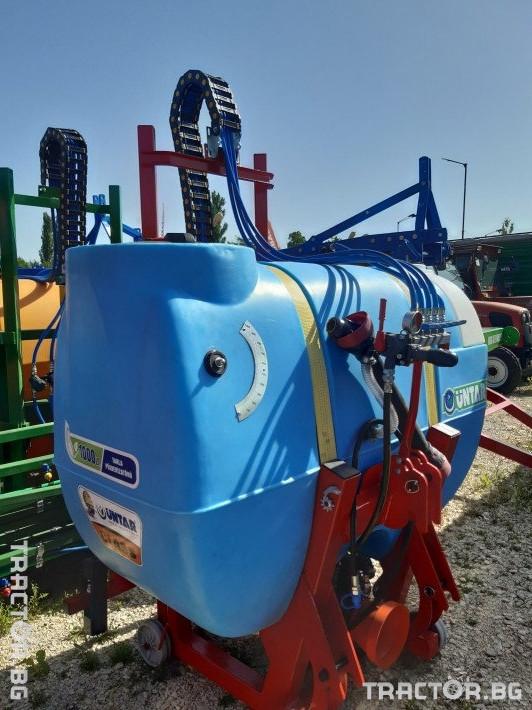 Пръскачки пръскачка турска 1000 литрова навесна щангова пръскачка UNTAR с 16 метра щанги 0 - Трактор БГ