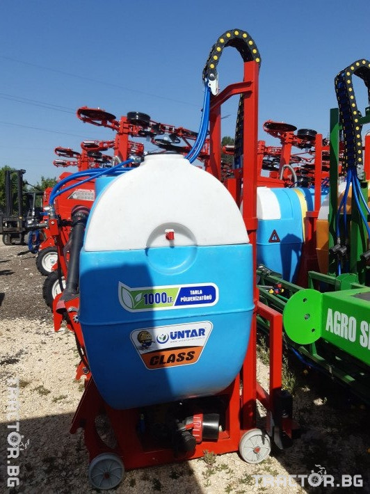 Пръскачки пръскачка турска 1000 литрова навесна щангова пръскачка UNTAR с 16 метра щанги 1 - Трактор БГ